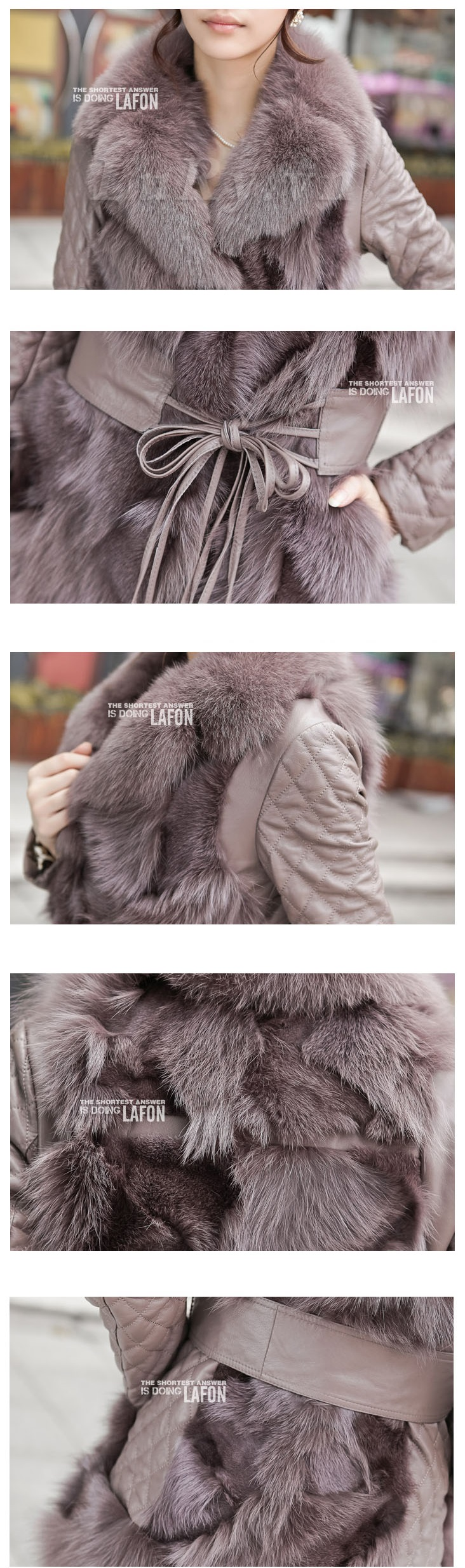 Cửa hàng bán áo khoác lông chồn dáng dài cao cấp tại hà nội