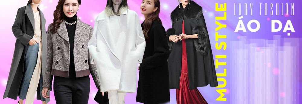 các mẫu áo dạ nữ dáng ngắn, dáng dài thời trang cao cấp