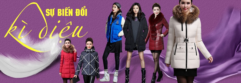 áo khoác phao cho nữ đẹp thời trang cho nữ