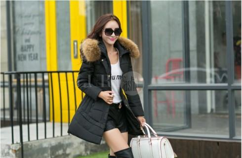 Thời trang áo khoác phao nữ cao cấp Hàn Quốc