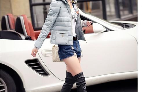 Những mẫu áo khoác phao nữ Hàn Quốc đẹp 2017