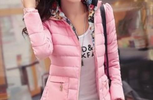 Phong cách áo khoác phao dáng ngắn trẻ trung cho bạn gái