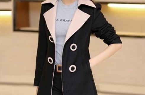 Những mẫu áo khoác dạ hàn quốc ấm áp cho phái nữ