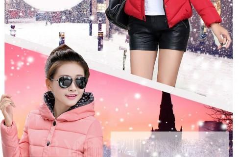 Áo khoác phao mỏng Hàn Quốctrẻ trung đẹp quyến rũ