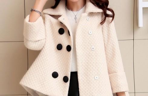 Mẫu áo khoác dạ ngắn Hàn Quốccá tính không thể bỏ qua