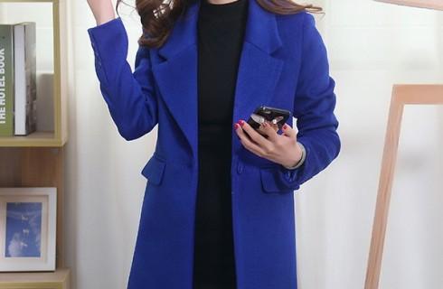 Áo khoác dạ trẻ trung Hàn Quốc cực cuốn hút cho các nàng