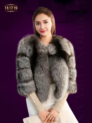 Áo khoác lông dày dáng ngắn nhập khẩu cao cấp TA1219