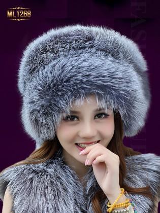 Mũ nồi lông trơn phong cách HQ thời trang ML1268 (Màu xám)