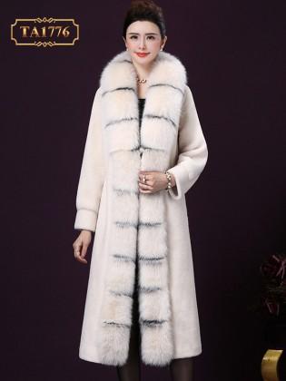Áo khoác lông thú tự nhiên phiên bản giới hạn mẫu mới 2019