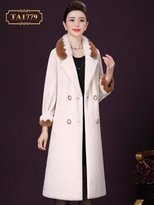 Áo lông cho nữ tự nhiên TA1779 hàng cao cấp thiết kế mới 2019