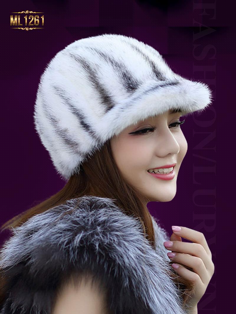 5 mẫu mũ lông Hàn Quốc dưới 5 triệu đồng đẹp