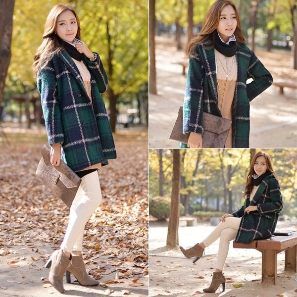 Style Hàn Quốc nhẹ nhàng, nữ tính cho quý cô càng trở nên xinh đẹp