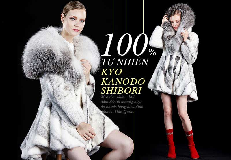 Áo khoác dạ nữ hàng hiệu Hàn Quốc tích cực lăng xê các mẫu áo lông thú tự nhiên