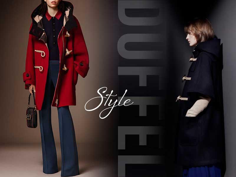 Áo khoác dạ nữ hàng hiệu phong cách duffel mang đến sự tươi trẻ, tràn đầy sức sống cho các quý cô thời trang