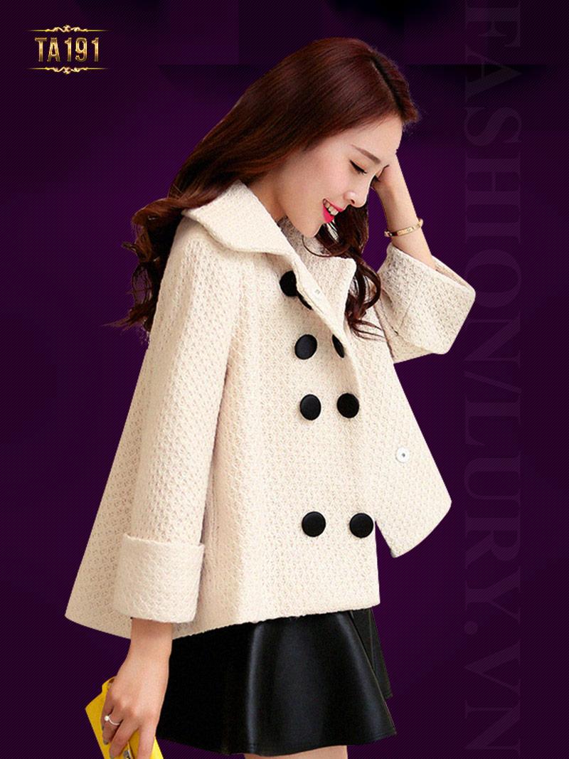 Lury shop cung cấp áo khoác dạ nữ đẹp ở Hà Nội mang phong cách thời trang Hà Quốc