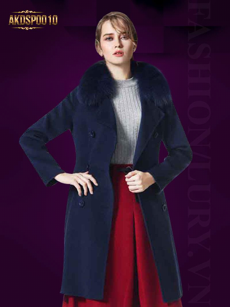 Những mẫu áo khoác dạ nữ cho mùa đông cá tính