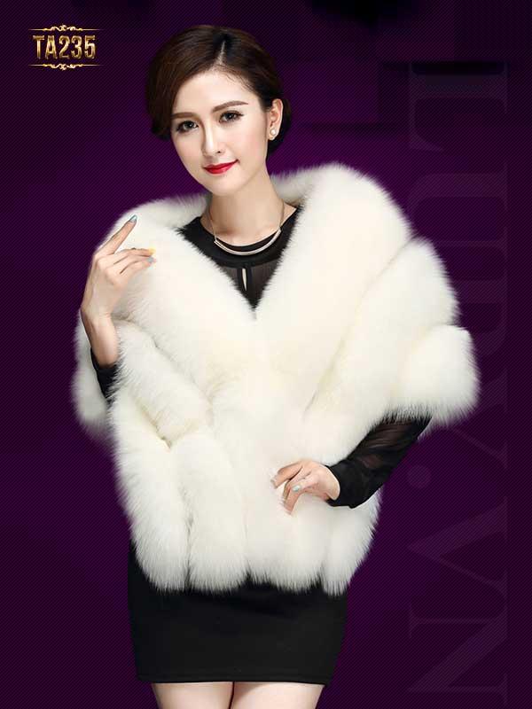 Áo khoác lông chồn cao cấp TA235