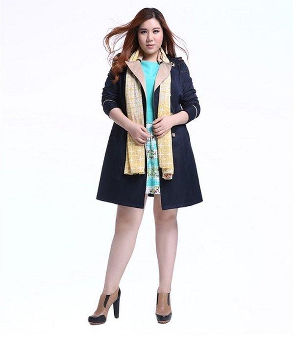 Chiều dài áo vừa phải sẽ giúp nàng trở nên trẻ trung hơn