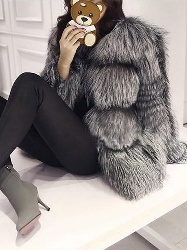 mix áo khoác lông chồn cao cấp