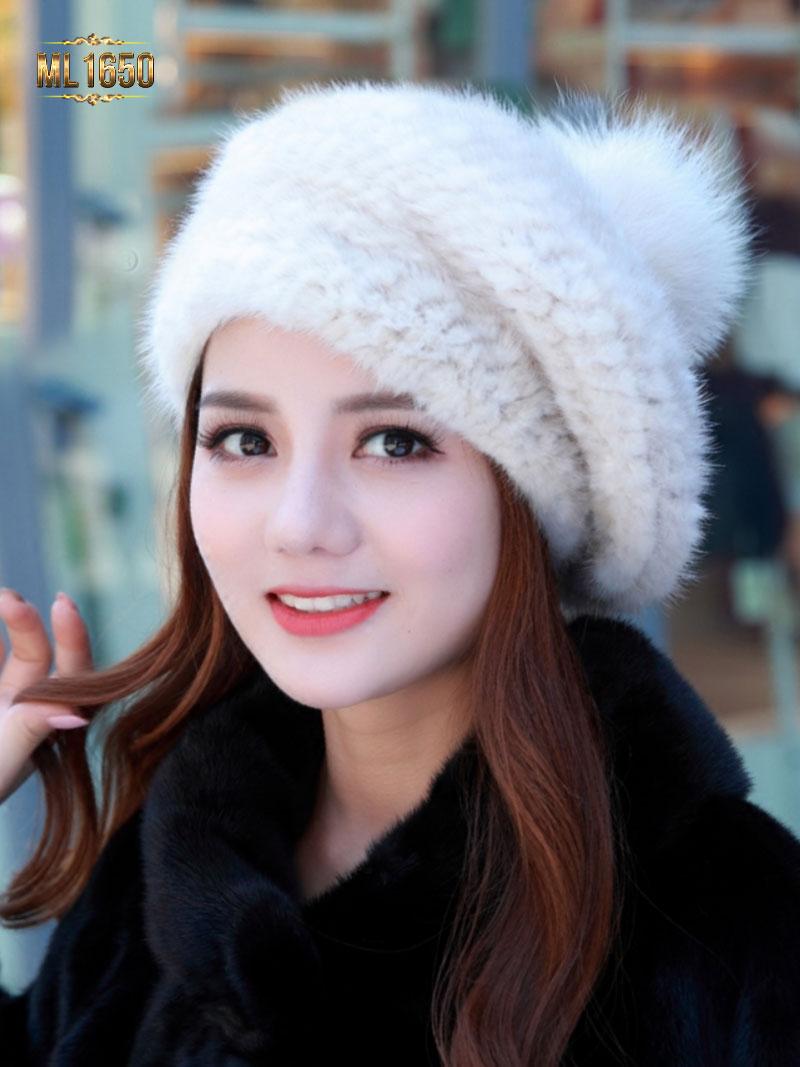 Mũ lông Hàn Quốc - sự lựa chọn hoàn hảo cho phái đẹp